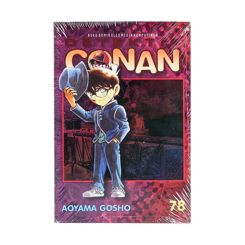 Elex Media Komputindo Detektif Conan 78 203671333 by Aoyama Gosho Buku Komik