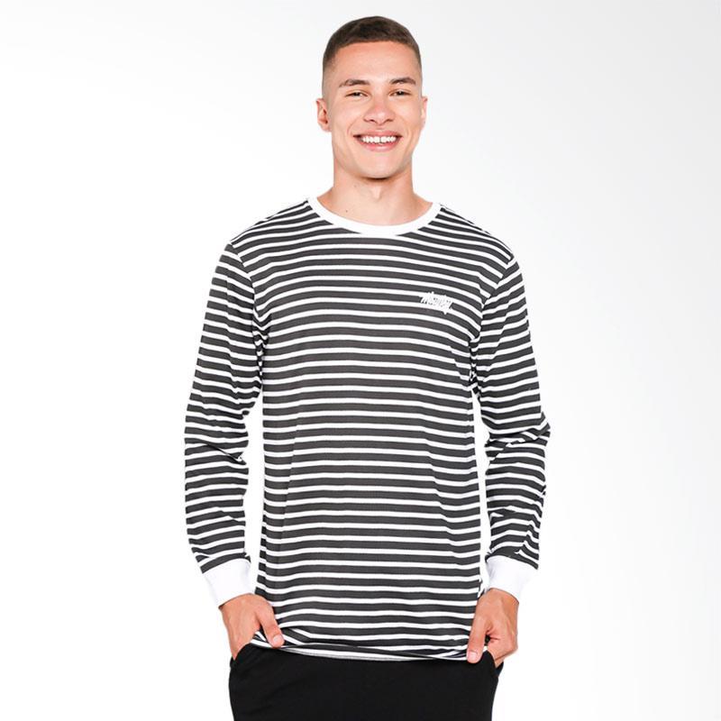 Moutley 0710 Tshirt Pria - White