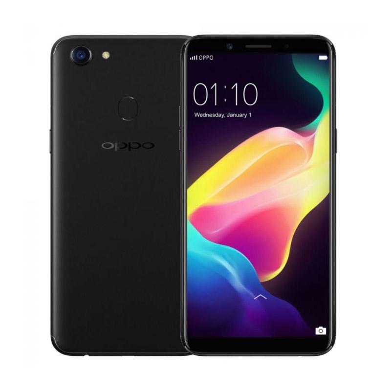 harga OPPO F5 Youth Fingerprint Smartphone - Hitam [3GB/32GB] Blibli.com