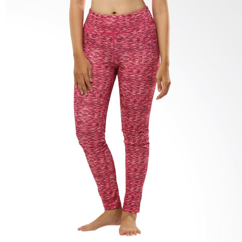 N.Y.L Active Long Celana Olahraga Wanita - Pinky Red Misty [09NYL200013]