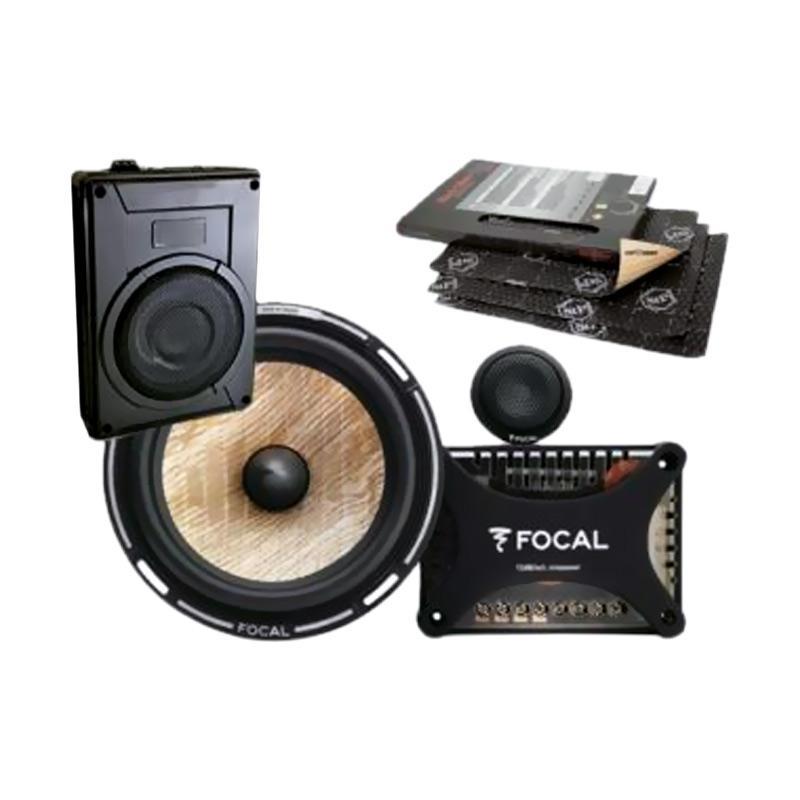 harga Focal Paket Audio Speaker dan Subwoofer Aktif Underseat [E] Blibli.com