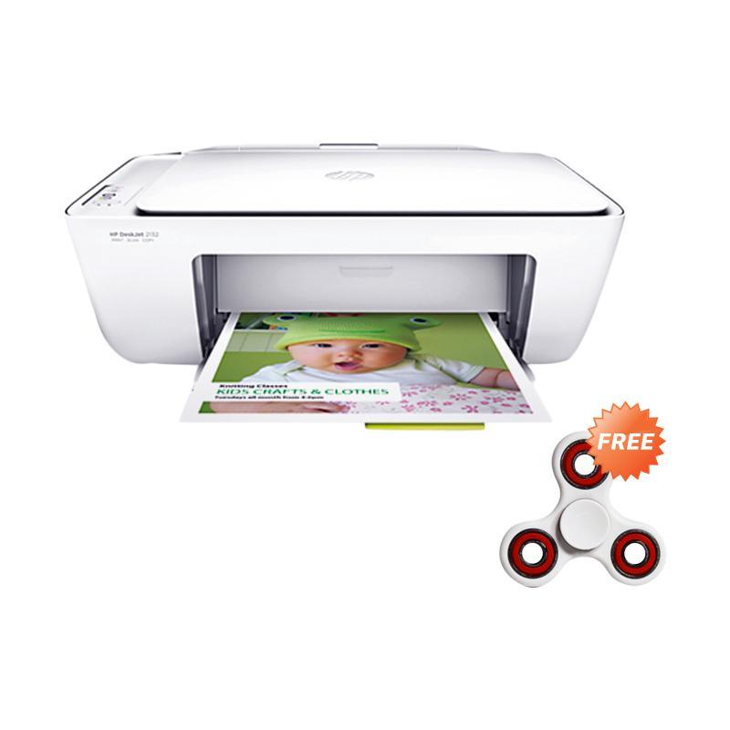 Kamis Ganteng - HP DESKJET 2132 Multi Function Printer + Free Fidget Spinner
