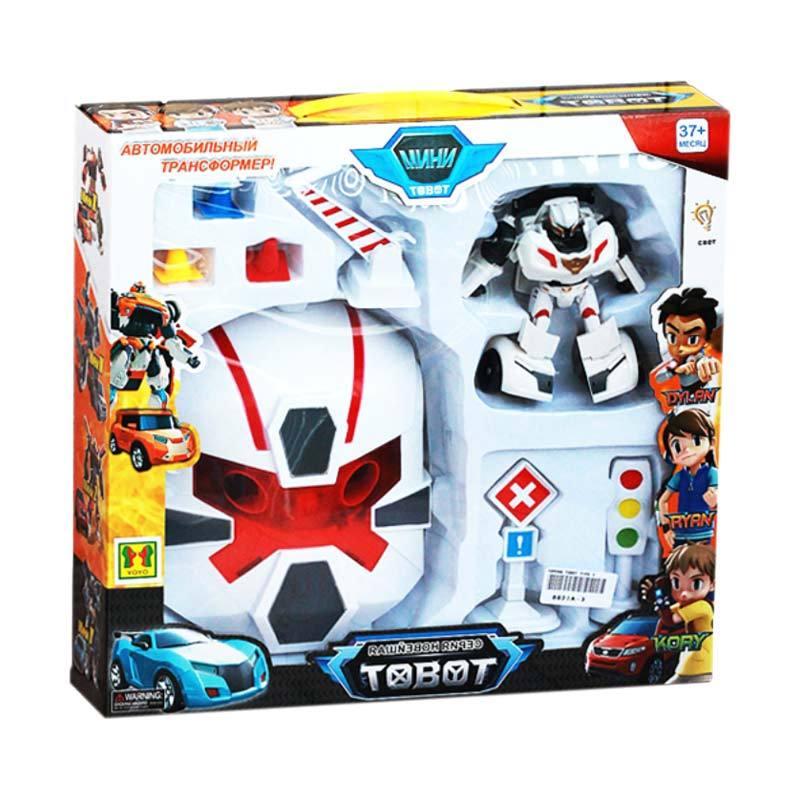 DimSum Seri CIN-0009 Mainan 2 in1 Topeng Tobot