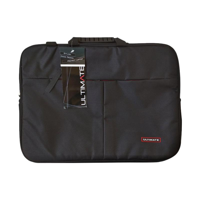 Ultimate Double Pro 2 Tas Laptop - Hitam [15.6 Inch]