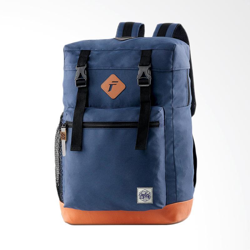 Ulasan Terbaru Inficlo Backpack Kasual Tas Ransel Pria - Biru Dongker [INF- SCP 685