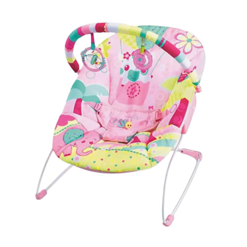 Mastela 6706 Music & Soothe Baby Bouncer - Pink