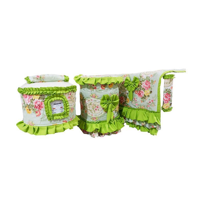 Shafiyyah.Sarban GKM-5 Set Kitchen Linen - Green