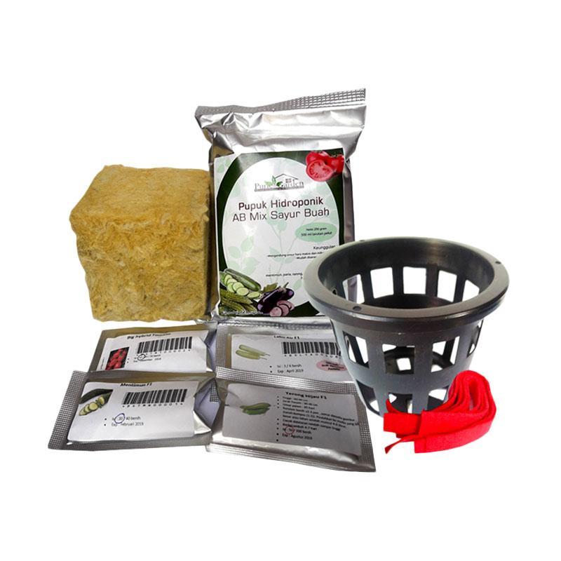 Puriegarden Sayuran Buah Paket Hidroponik