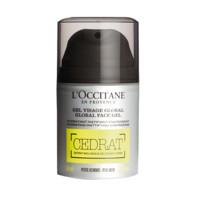 L'Occitane Cedrat Global Face Gel Pria [50 mL]