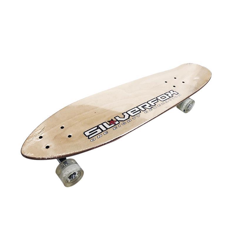 harga Silver Fox Maple Crusier Papan Skateboard - Brown Blibli.com