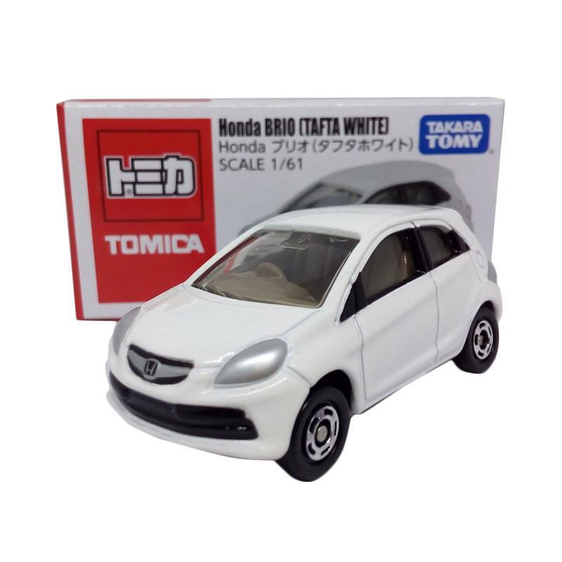 Jual Takara Tomy Tomica Honda BRIO Tafta White Diecast - Putih Online - Harga & Kualitas