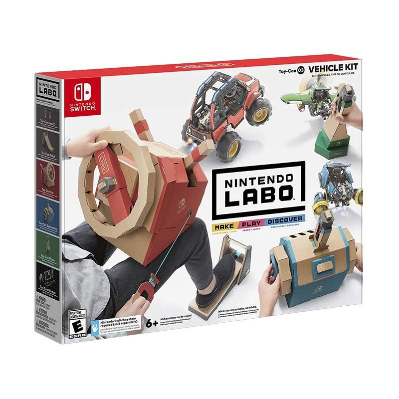 Nintendo Switch Labo Vehicle Kit Set