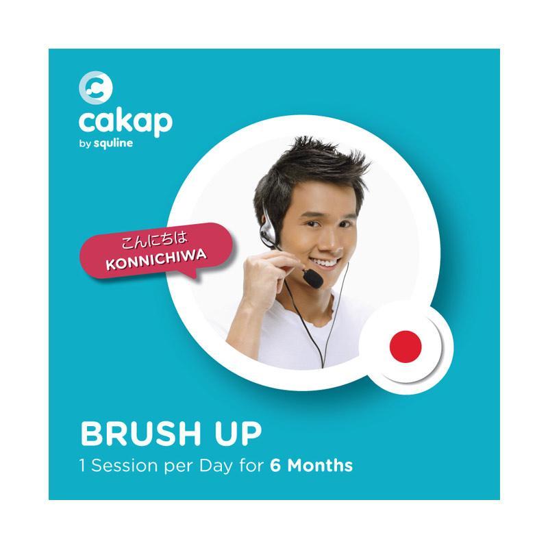 CAKAP Japanese Brush Up E Voucher 6 Bulan