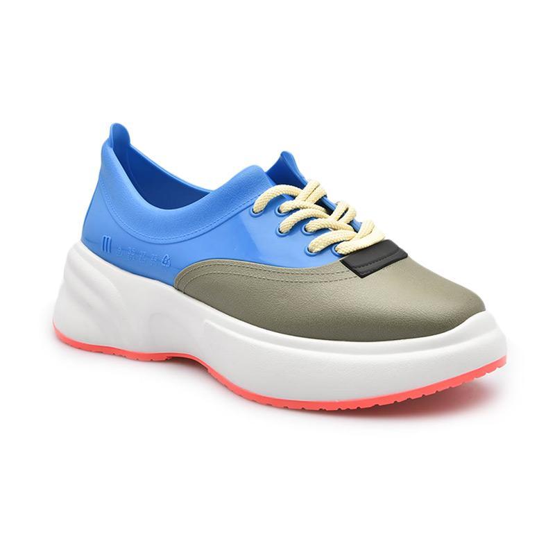 Melissa Ugly Sneaker Ad 32429 Sepatu Wanita White Blue Green