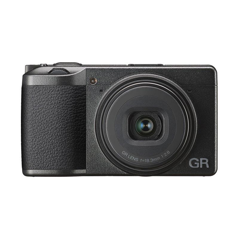 JPC KEMANG Ricoh GR III Digital Camera Black GARANSI RESMI