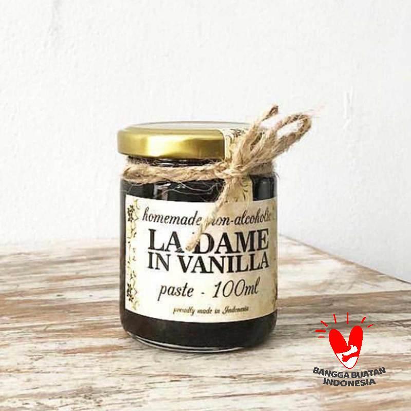 La Dame in Vanilla Pasta Vanila