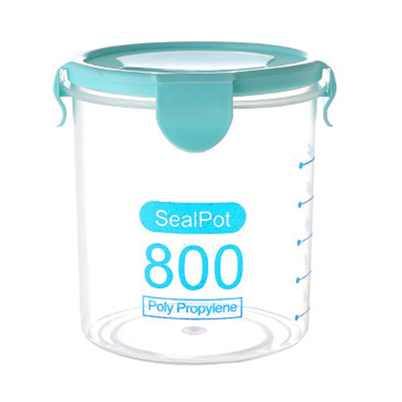 Jual Eds Transparent Plastic Sealed Cans Refrigerator Kitchen