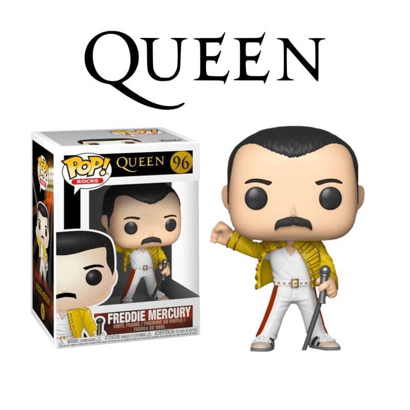 "Freddie Mercury - 12/"" Vinyl Record Clock 1986 Queen at Wembley"