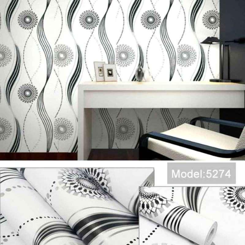 abadi abadi 5274 motif ornamen wallpaper   hitam  full05 l4yr7np9