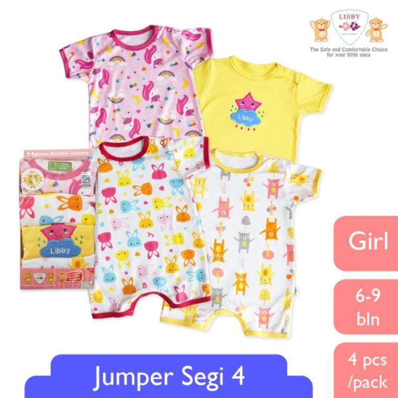 LIBBY BABY Jumper Segiempat Premium Baju Bayi