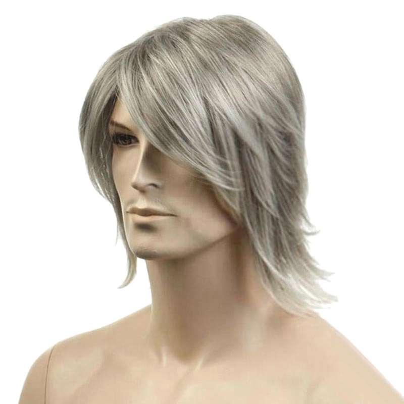 Jual Fashion Deal Rocker Men Fashion Short Hair Wig Perfect For Carnivals Party Cosplay Festival Online Desember 2020 Blibli