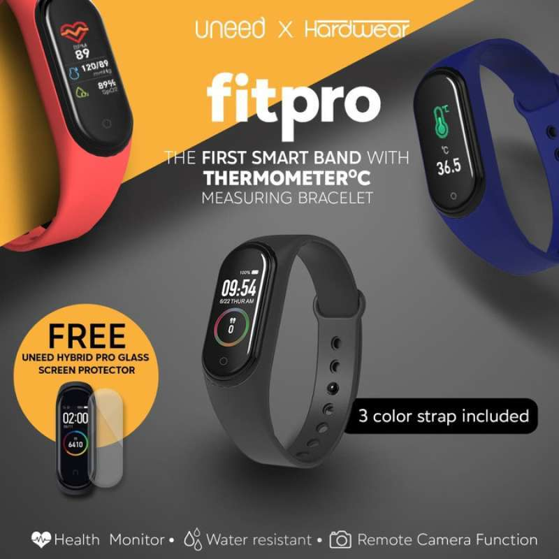 Hardwear Fitpro Smartband With Thermometer