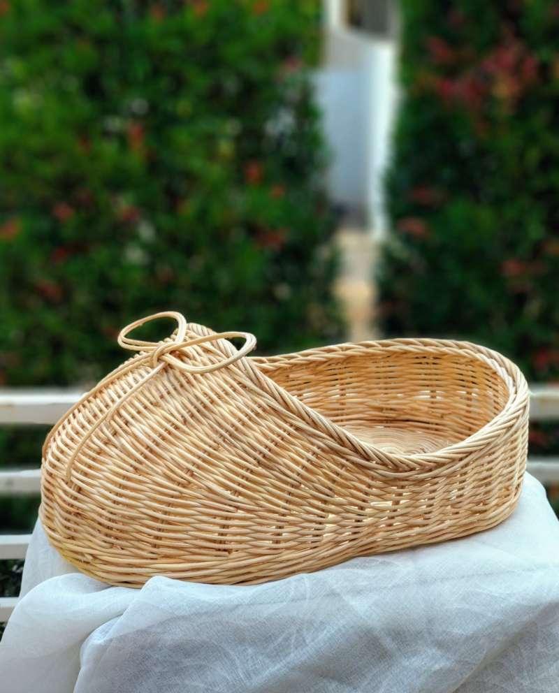 Keranjang Rotan Motif Sepatu