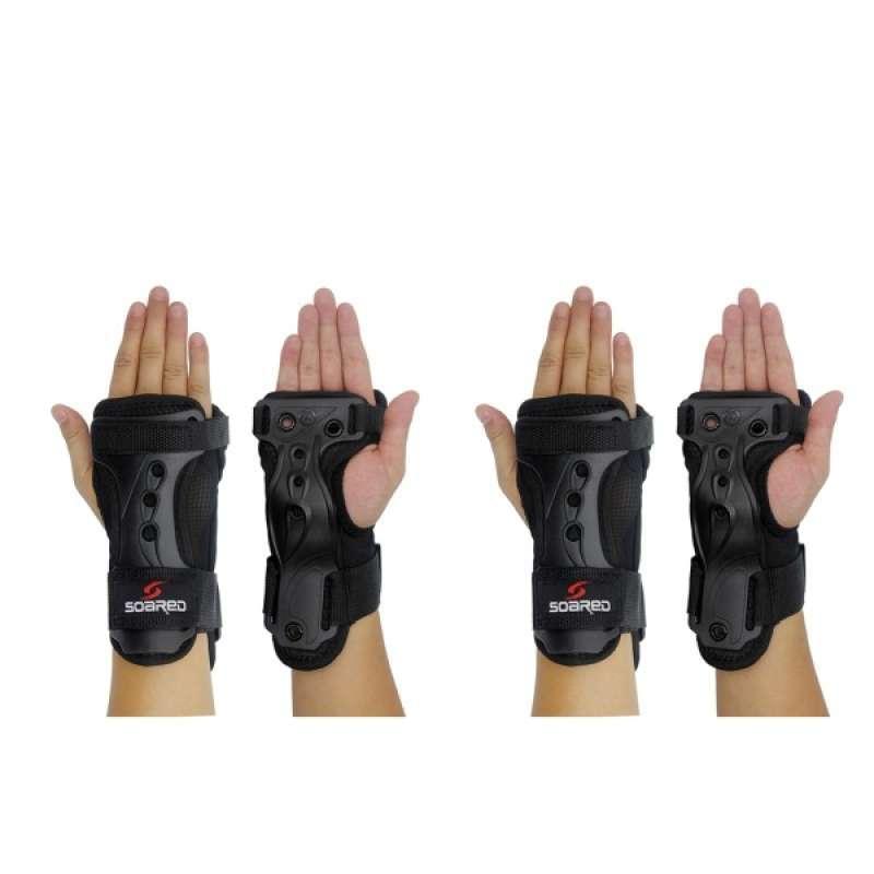 2 Set Skating Roller Snowboard Wrist Guard Glove
