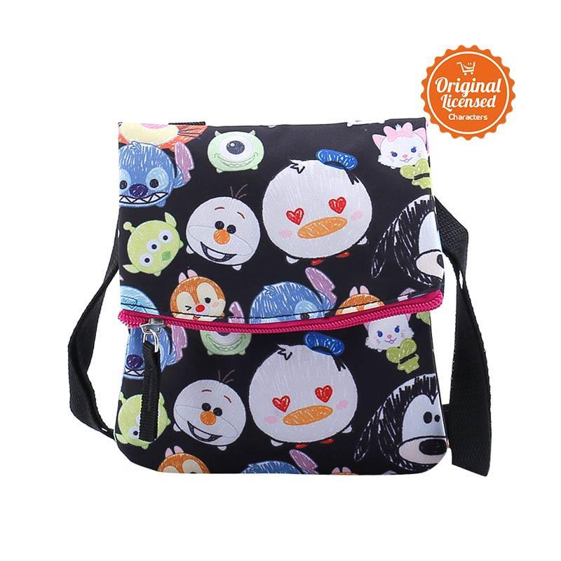 Disney Tsum Tsum Sling Bag - Black