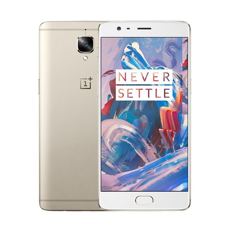 OnePlus 3 Smartphone - Gold [64GB/6GB]