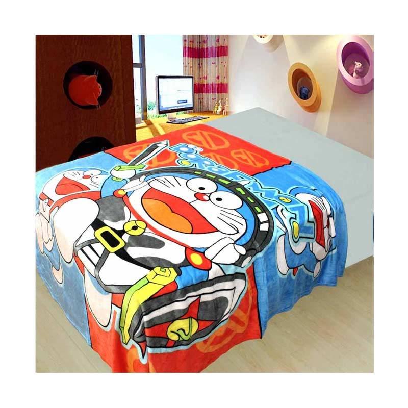 Chelsea Doraemon War Selimut [150 x 200 cm]