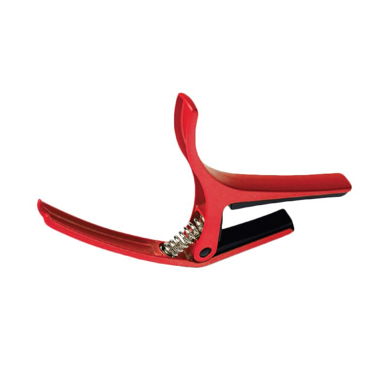 Doremi Glow Alloy GC-30 Capo Gitar - Red