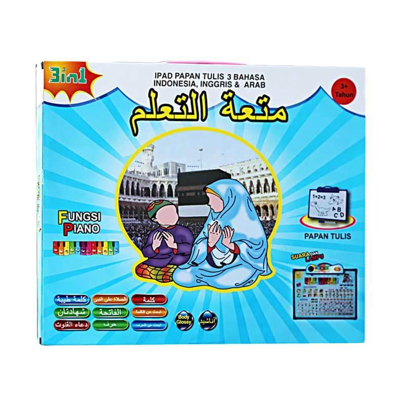 harga MAO iPan Anak Muslim Papan Tulis Mainan Edukasi [3 Bahasa] Blibli.com