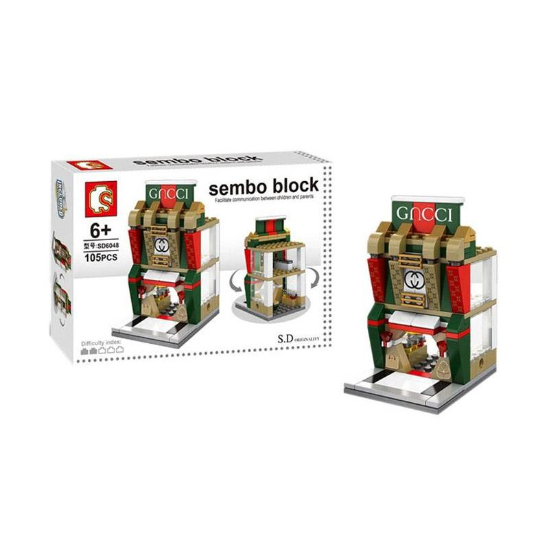 Sembo Sd6048 Designer Shop Mini Blocks