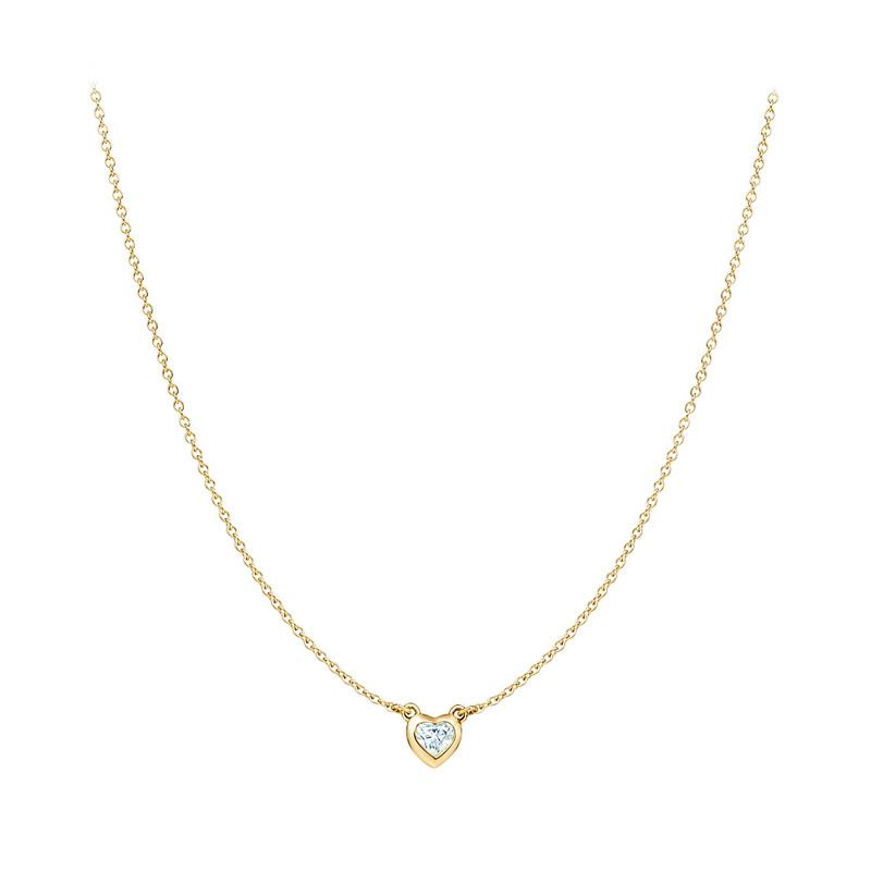 Tiaria Heart to Heart Necklace - Gold [18K]