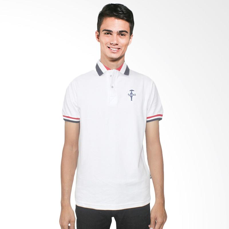 Fyasko Wangki RGB Man Polo Shirt - White Extra diskon 7% setiap hari Extra diskon 5% setiap hari Citibank – lebih hemat 10%