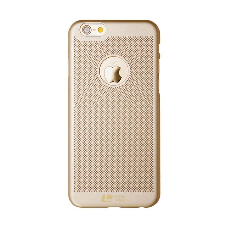 Loopee Woven Hardcase Casing for iPhone 7 - Gold