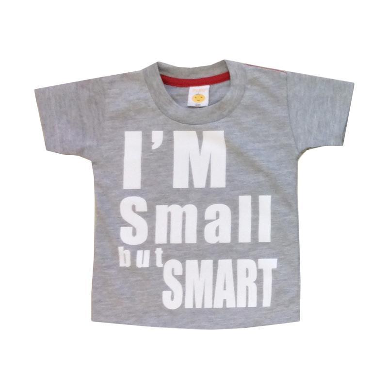 Pleu Small Smart T-shirt Anak - Grey