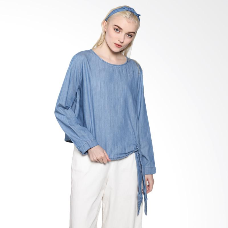 Rodeo 817.0220.BLU Blouse Shirt Denim - Blue