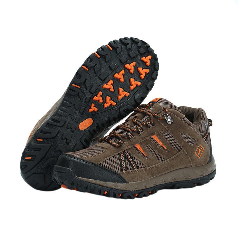 Snta 427 Sepatu Gunung - Brown Orange