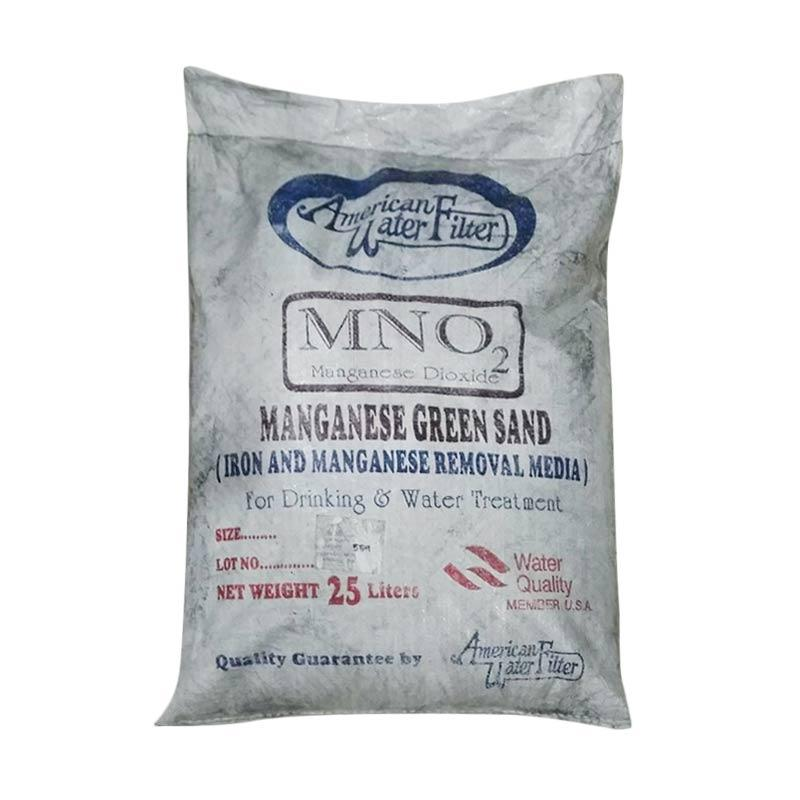 Blue Gold MNO2 Manganese Green Sand Perlengkapan Saluran Air