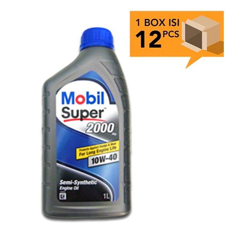 Paket Karton - Mobil Super 2000 10W-40 Botol