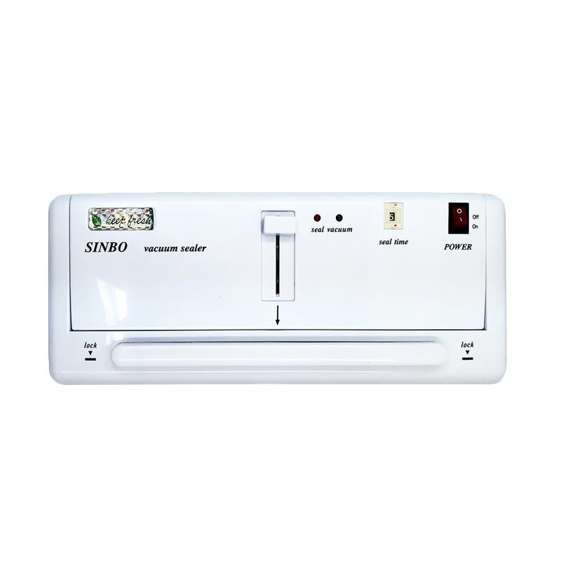 Sinbo DZ-280 Alat Pres Plastik - Putih