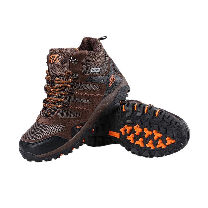 harga Snta 490 Sepatu Gunung - Brown Orange Blibli.com