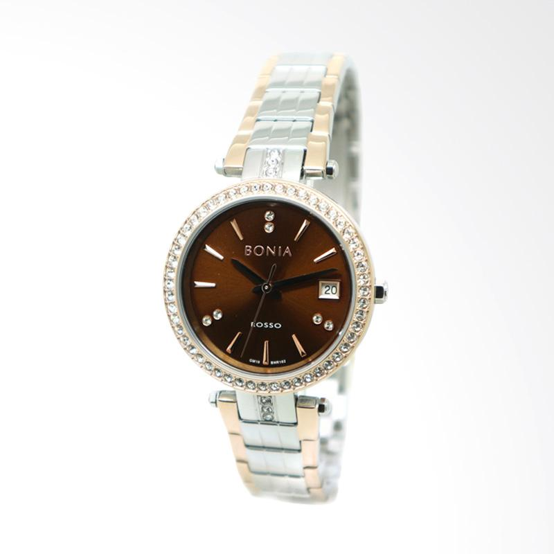Bonia BNR102-2642S Jam Tangan Wanita - Silver