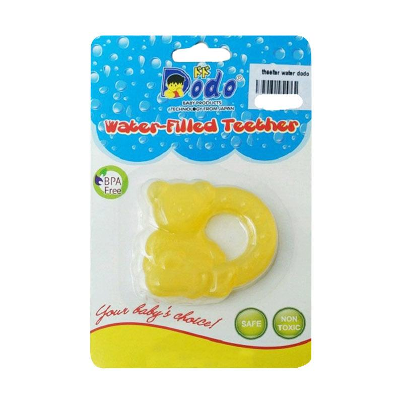 Dodo Water Filled Cat Teether - Yellow