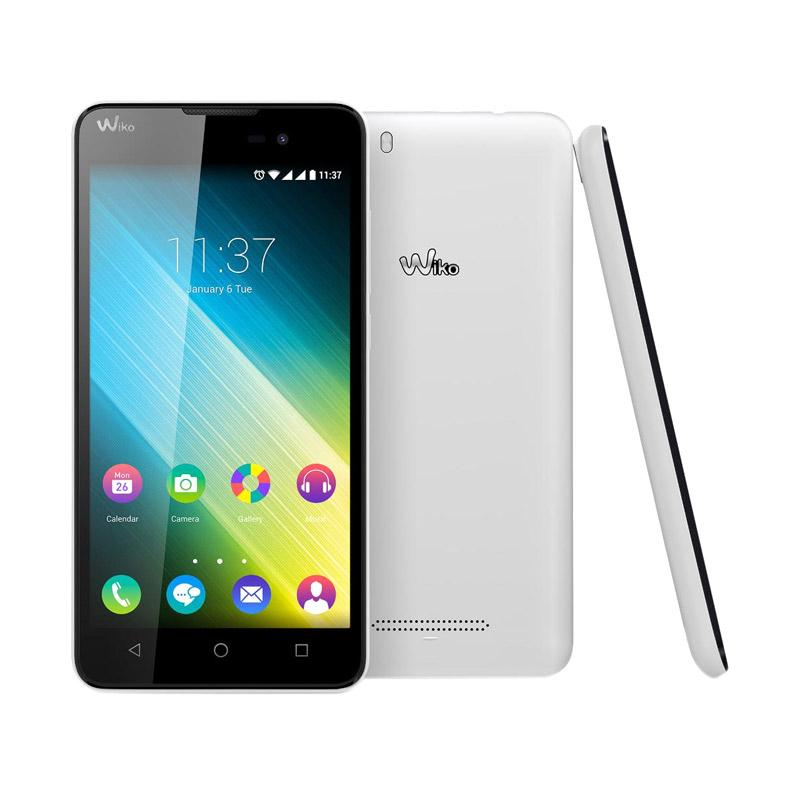 Wiko Lenny 2 Smartphone - White [8 GB/ 1 GB]+ T-SHIRT