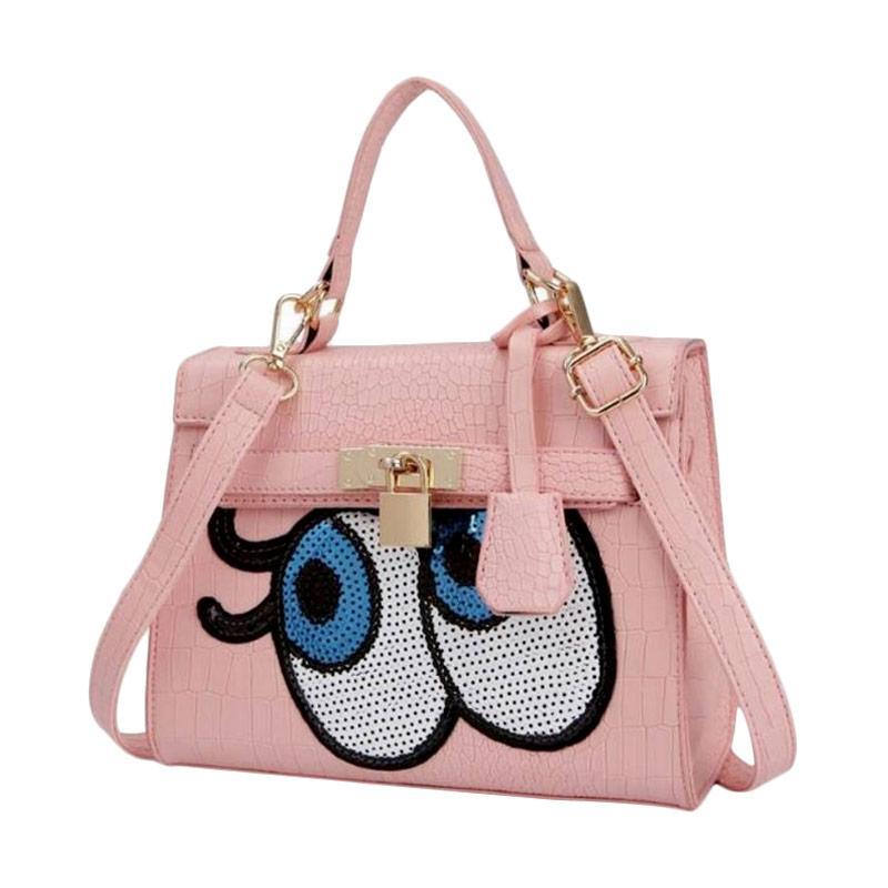 Annies Fashion Eye Tas Wanita - Pink