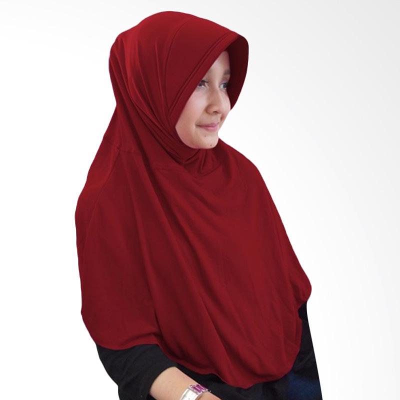 Milyarda Hijab M Bergo - Maroon