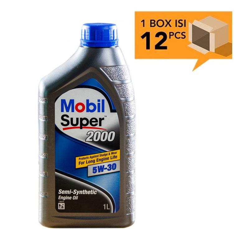 Paket Karton - Mobil Super 2000 5W-30 Botol